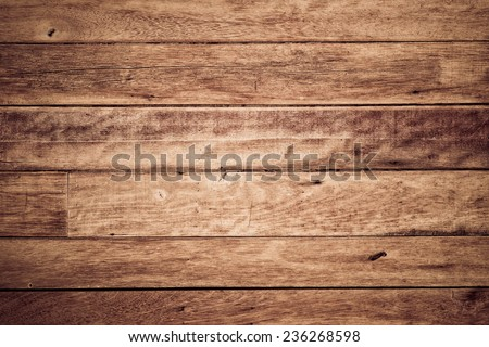 wood plank wall background - stock photo