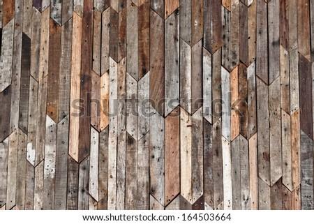 wood plank wall texture - stock photo
