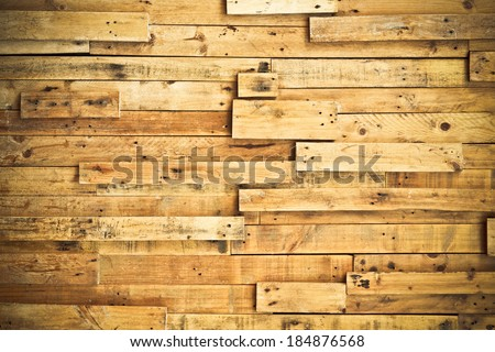 wood plank wall / wood plank texture - stock photo