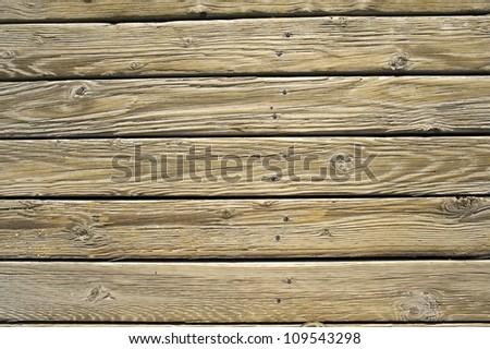 Wood Planks Background - Horizontal Wood Planks. Backgrounds Photo Collection. - stock photo