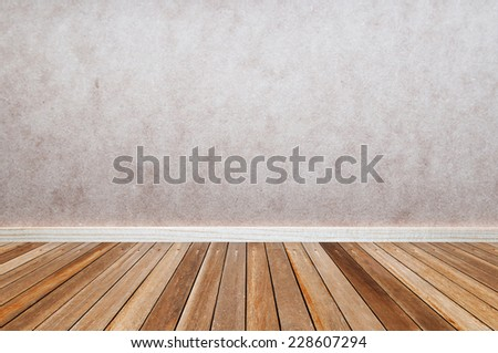 wood room interior design - wooden wall floor frame exterior panel timber material texture background - stock photo