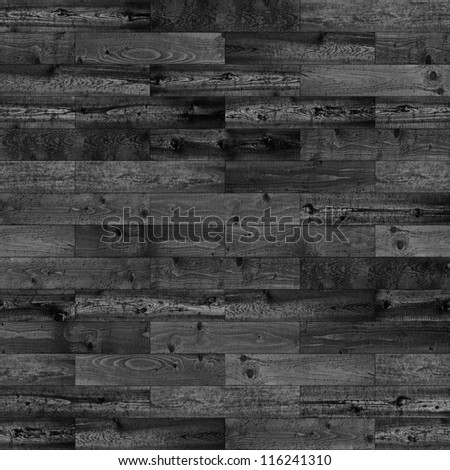 Wood seamless dark parquet texture - stock photo