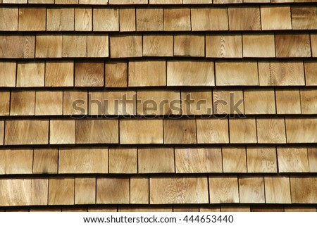 Wood Shingle Siding Background