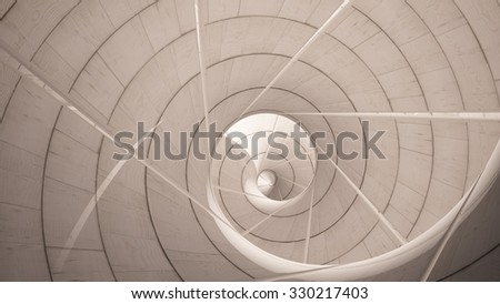 wood spiral background