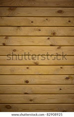 Wood striped wall - stock photo