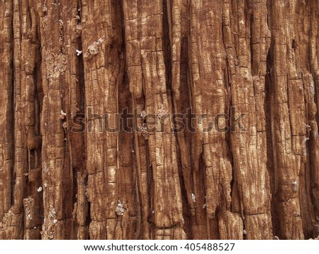 Wood surfaces are formed naturally bright background