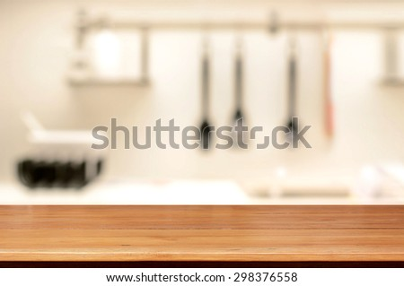 Kitchen Island Close Up wood table top as kitchen island stock photo 294226763 - shutterstock