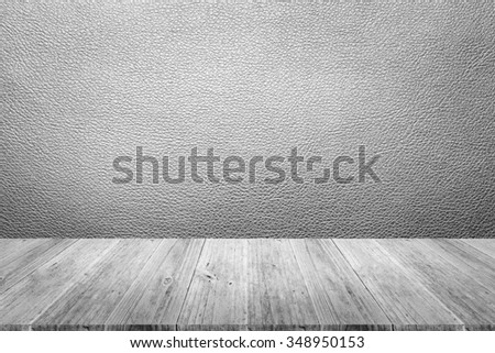 Wood terrace and Leather texture background surface white color