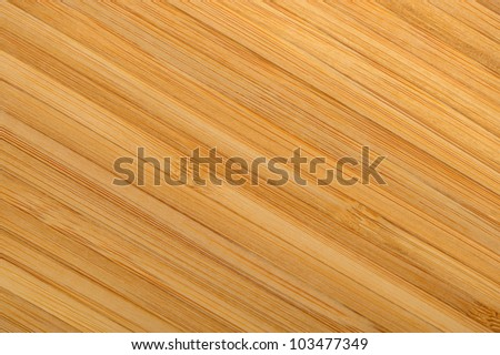 Wood texture. A detailed photo of a structure of the pressed bamboo