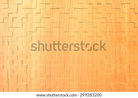 Wood texture background, 3d block style