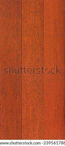 Wood texture background for design, Merbau board . - stock photo