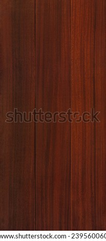Wood texture background for design, Okan board . - stock photo