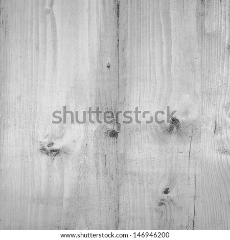 wood texture background in black and white - stock photo