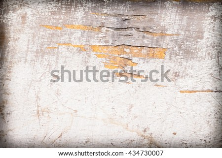 Wood Texture background of weathered painted wood background