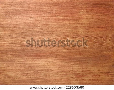 Wood Texture Background. Top View of Classic Wooden Table - stock photo