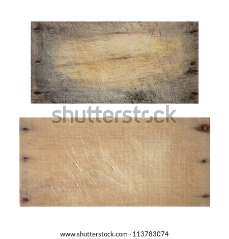 Wood texture board - stock photo