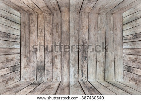 wood texture/inside wood box background - stock photo