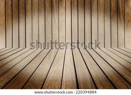 Wood texture interior - stock photo