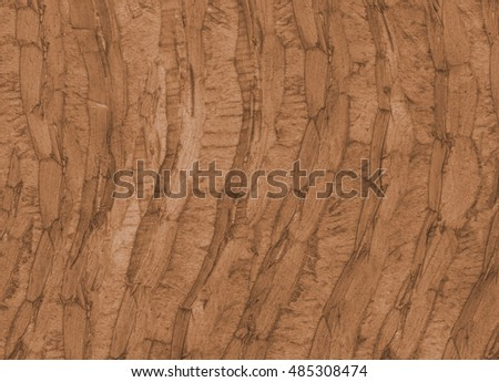 Wood texture. Lining boards wall. Wooden background pattern. Showing growth rings. Brown Colour