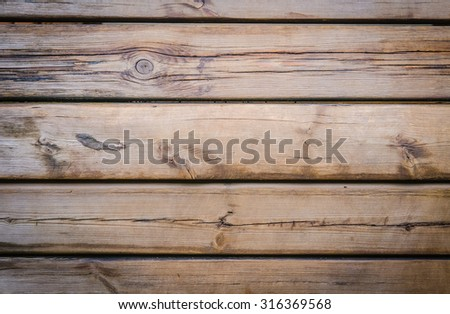 Wood texture. Nice and wooden. - stock photo