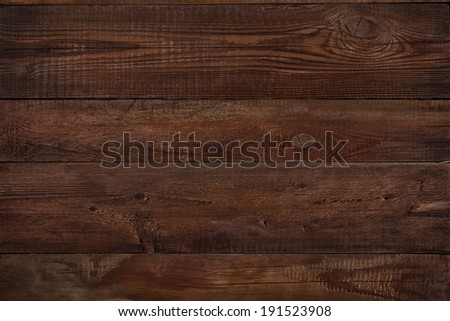 wood texture plank grain background, wooden desk table or floor, old striped timber board - stock photo