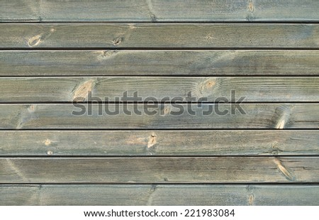 Wood texture - The wall made of wood - stock photo