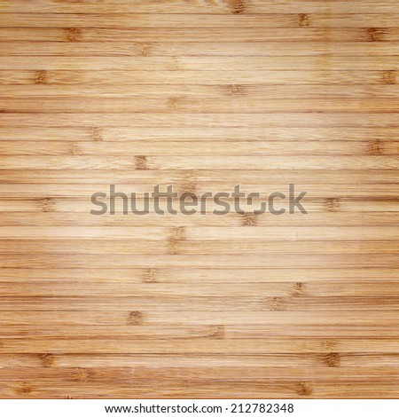 wood texture with natural bamboo patterns  - stock photo