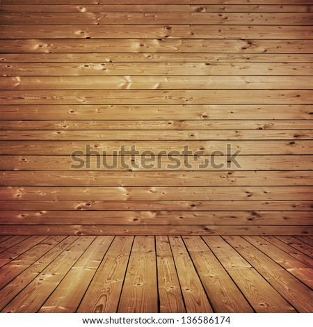 wood texture with natural patterns background - stock photo
