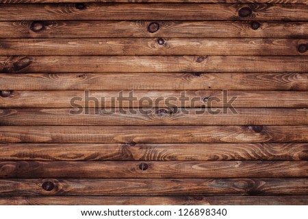 wood wall - stock photo