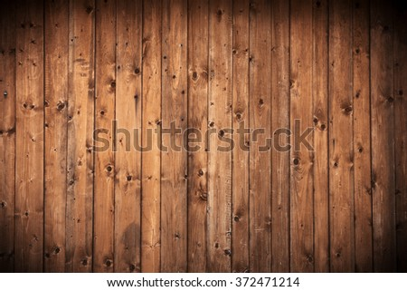 Wood wall background or texture - stock photo