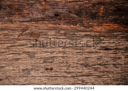 Wood, Wooden, Natural Old Surface. Vintage Rustic Style. Background Wallpaper and Texture. - stock photo