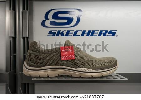 skechers stock