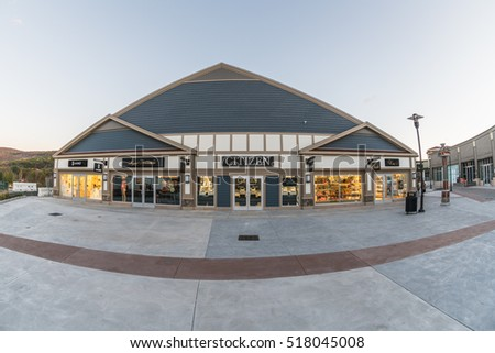 WOODBURY, NEW YORK - OCT 26 : Citizen shop Woodbury Common Premium Outlet on Oct 26, 2016 in Woodbury, New York, USA.