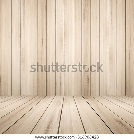 wooden backdrop - stock photo