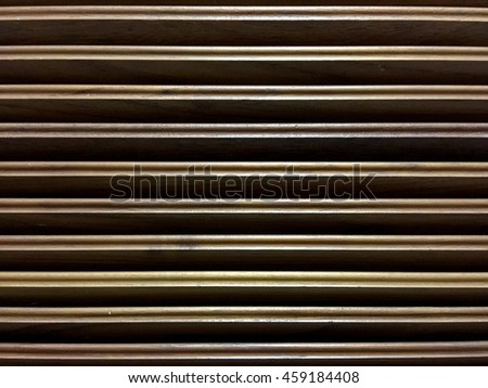 Wooden background , Background is wood vents