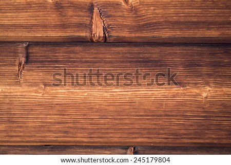 Wooden background. Brown grunge texture of wood board