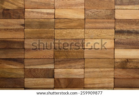 wooden background made of jenga