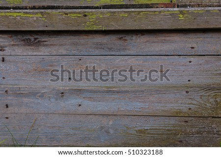 wooden background, old boards, old wooden surface