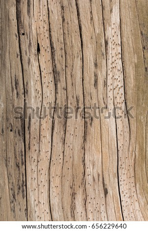 Wooden background  On the beach in Nai Yang Beach Phuket Thailand