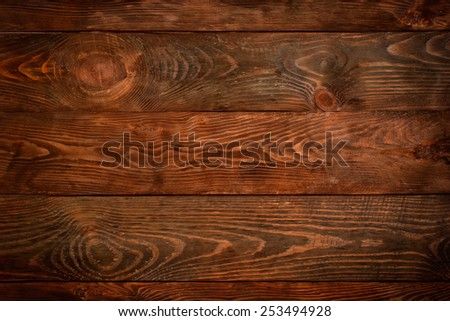 Wooden background top view for various design purposes - stock photo