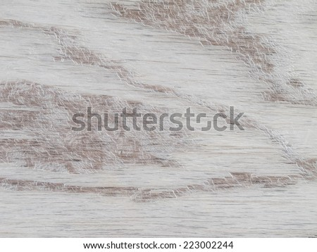 Wooden Background, with abstract white paint - stock photo
