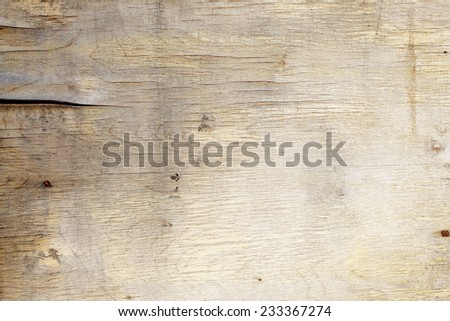 wooden background with old wood and aged by time - stock photo