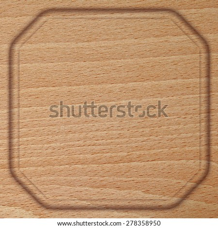 Wooden background with relief.