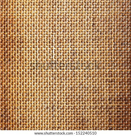 Wooden (bamboo) mesh texture, design detail - stock photo