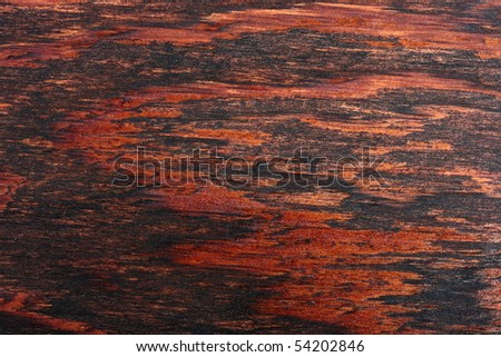Wooden board processed by special structure for change of color as a background.