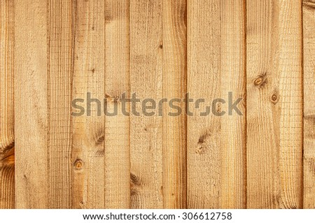 Wooden boarding - stock photo