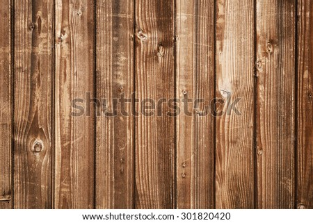 Wooden boards background - stock photo