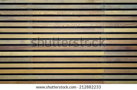 Wood Strips On Wall Design Decoration