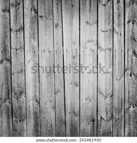 wooden boards background with vignette - stock photo