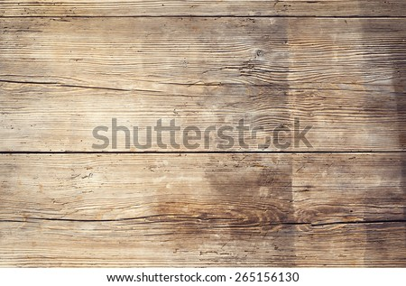 Wooden boards with texture as clear background - stock photo